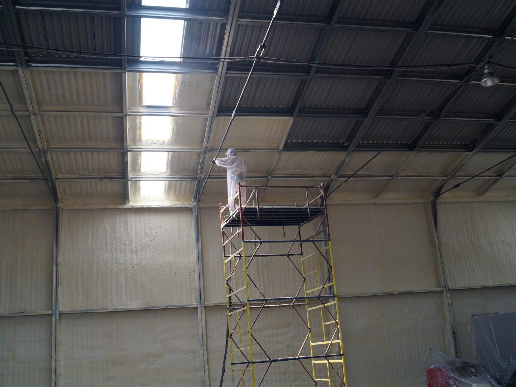 теплоизоляция мелалической крыши